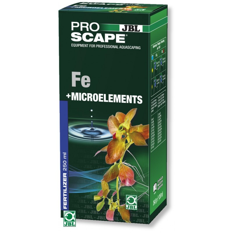 JBL ProScape Fe + Microelements 250ml - Желязо и микроелементи