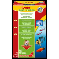 Sera Super Carbon - 250 гр - Активен въглен
