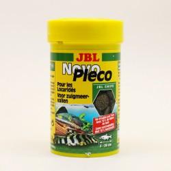 JBL Novo Pleco 100 ml - Чипс от водорасли за сомчета, съдържащ дървесина - таблетки