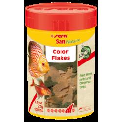 Sera San Nature, 100 мл - натурална оцветяваща храна, люспи