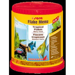 sera Flake Menu - 4 в 1 висококачествена храна на люспи