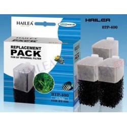 Hailea Replacement Pack BTP-400 резервни касети и гъби